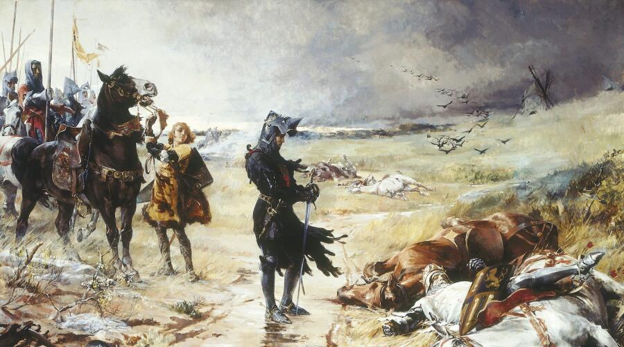 Джулиан Рассел Стори, «Черный Принц после битвы при Креси»