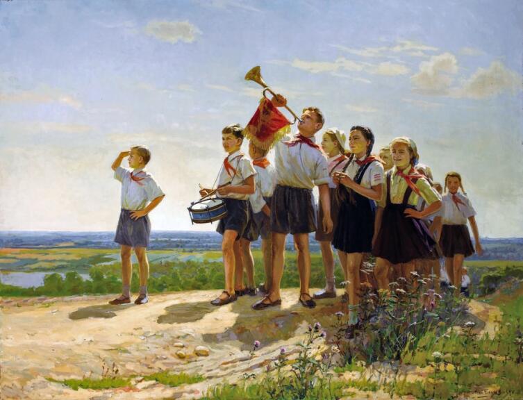 Николай Беляев, «Счастливые», 1949 г.