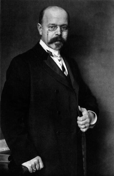 Вальтер Герман Нернст, 1906 г.