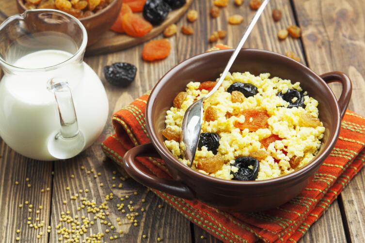 Почему стоит включить в рацион питания блюда из пшена?