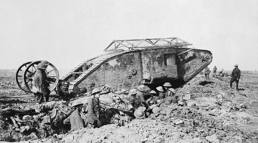 Британский танк Mark I «самец»