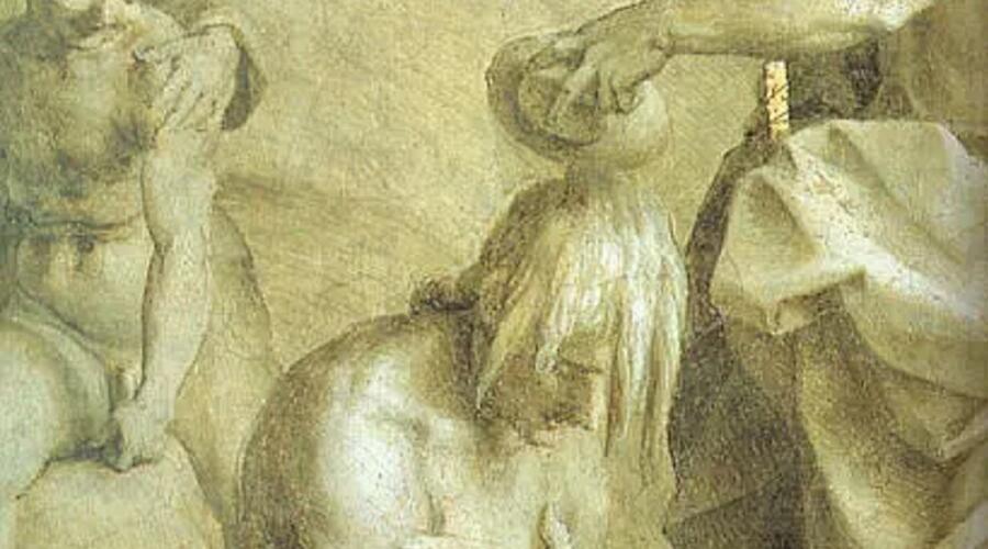 Андреа дель Сарто Форт, «Иоанн Предтеча» (фрагмент)<br />