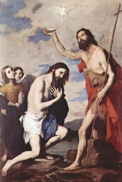 Хосе де Рибера, «Крещение Христа»