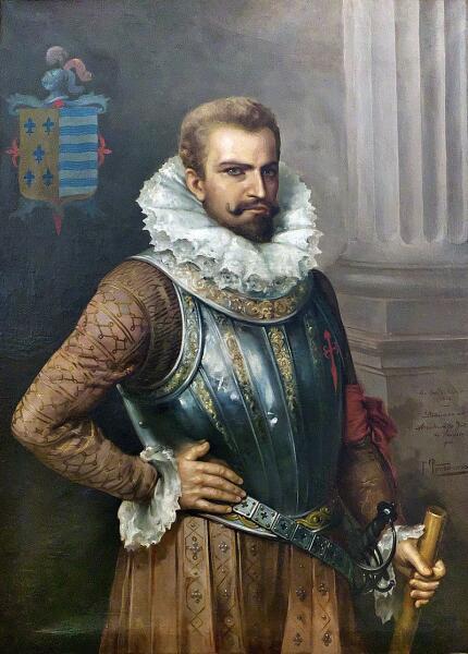 Официальный портрет Педро де Альварадо