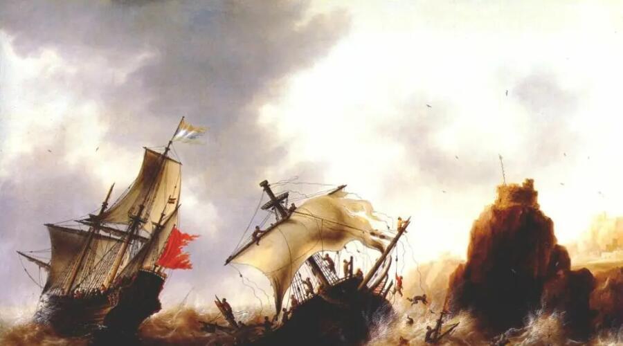 Якоб Беллевуа, «Кораблекрушение во время шторма»