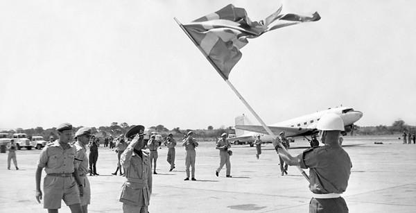 Шведские военные в Конго. Фотография 1961 г.
