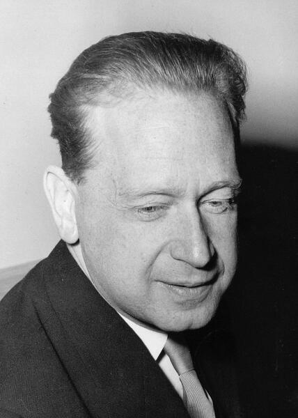 Даг Хаммаршёльд, 1961 г.