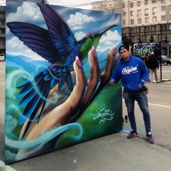 Тимур aka Бразил, «Живопись в стиле граффити»