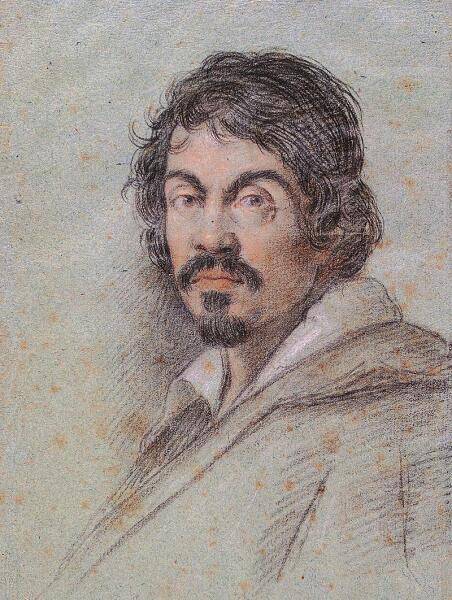 Оттавио Леони, «Портрет Караваджо», 1621 г.