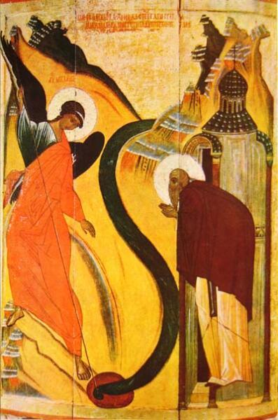 Икона «Чудо архангела Михаила в Хонех»
