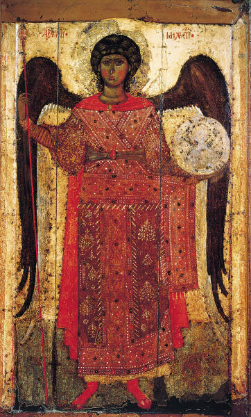 Икона «Архангел Михаил» ок. 1300 г., Ярославль