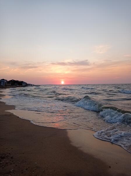 Закат в Голубицкой