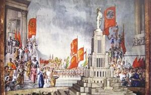 Юрий Пименов. О чем писал «самый московский» художник?