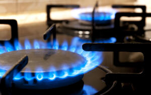 Когда в быту стали использовать газ?