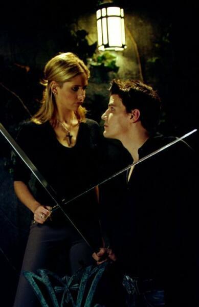 Кадр из т/с «Баффи — истребительница вампиров», 1997 г.