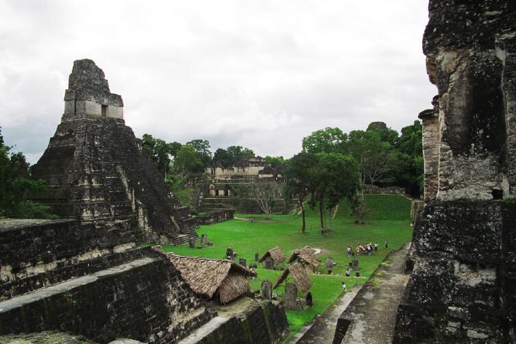 Первый храм Тикаля — «Большой ягуар»