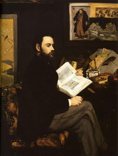 Эдуард Мане, «Эмиль Золя», 1868 г.