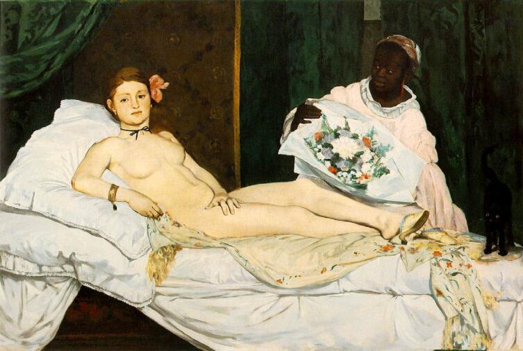 Эдуард Мане, «Олимпия», 1863 г.
