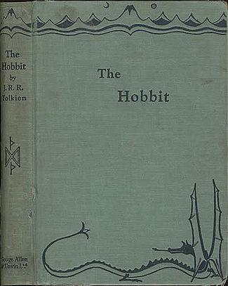 Обложка первого издания повести с авторским изображением дракона