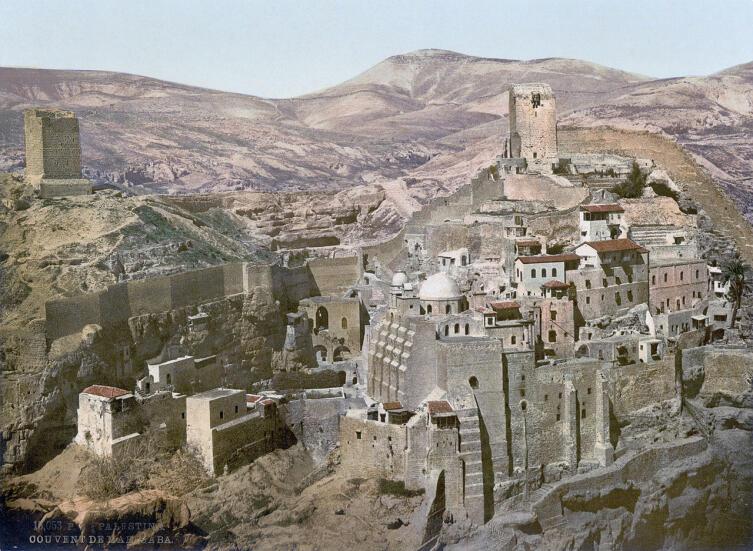 Лавра Саввы Освященного, Израиль