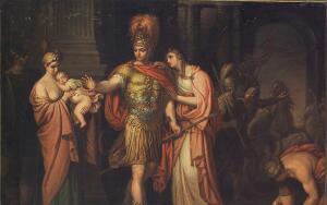 Троянская война. О чем горюет Андромаха?
