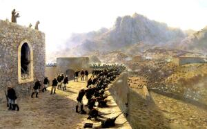 Как начиналась битва за Баязет?