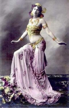 Маргарета Зелле в образе Мата Хари.