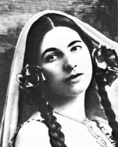 Восточная красота досталась Маргарете Зелле от матери.