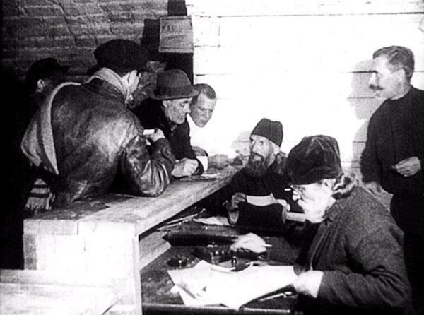 Заключенные священники в Соловецком лагере