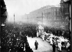 Похороны Анастасии Вяльцевой