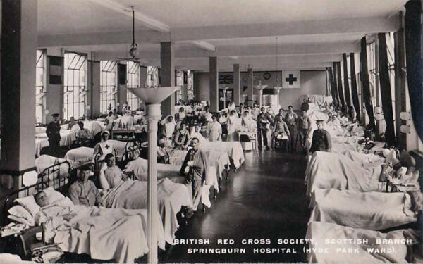 Госпиталь Английского общества Красного Креста. Первая мировая война