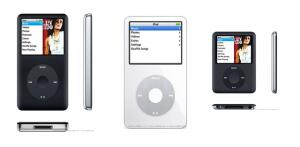 Apple iPod nano 8Gb (3rd generation), iPod video 80Gb и iPod classic 80Gb