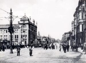 Улица Тверская. Фото начало XX века