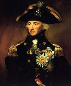 А. Фрэнсис. Портрет адмирала Нельсона