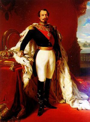 Ф. Винтерхальтер. Император Наполеон III