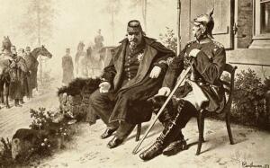Наполеон III в плену.1870 г.