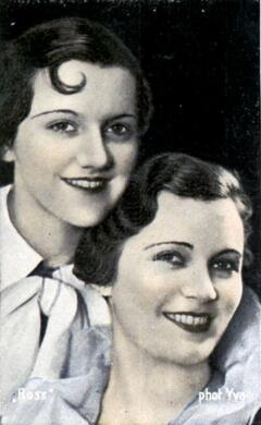 Ольга Чехова с дочерью