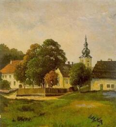 Дом родителей в Леондинге. 1911