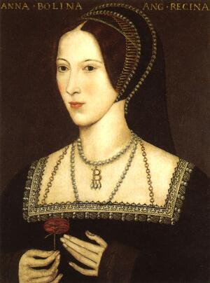 Вторая жена Анна Болейн