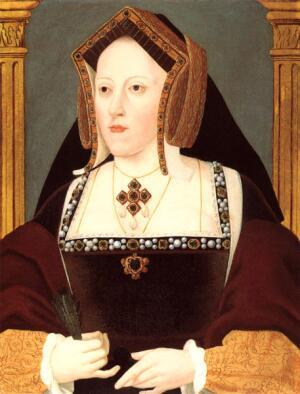 Первая жена Екатерина Арагонская