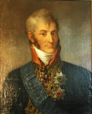 Портрет графа Н. А. Зубова из коллекции Грозненского художественного музея