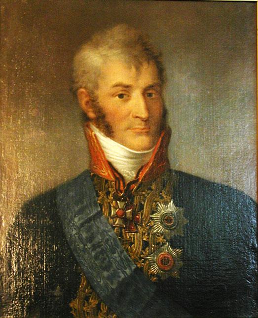Портрет графа Николая Александровича Зубова из коллекции Грозненского художественного музея