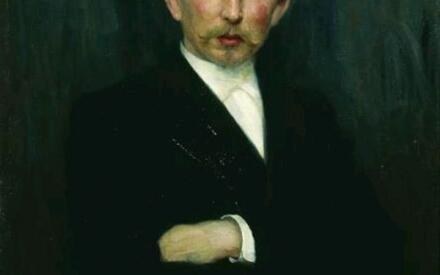 Кузнецов Н.Д. Портрет художника А.М. Васнецова. 1897