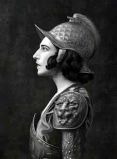Ида Рубинштейн в костюме для балета «Мученичество святого Себастьяна»