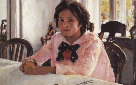 Серов В.А. Девочка с персиками (Портрет В.С. Мамонтовой)