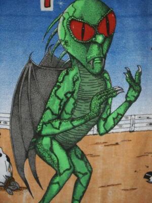 Эль Чупакабрас. Персонаж мексиканских рекламных плакатов