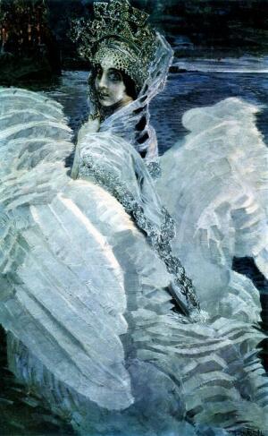М.Врубель «Царевна-Лебедь»
