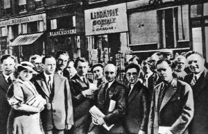Париж. 1935 год. Впереди вся жизнь. До войны...