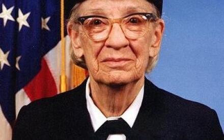 Грейс Мюррей Хоппер, контр-адмирал ВМФ США