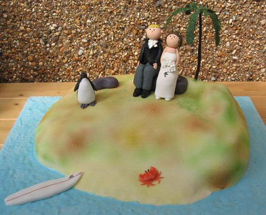 Свадебный торт – это просто десерт